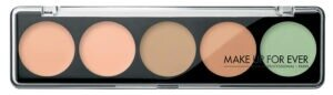 Mace up For Ever 5 Camouflage Cream Palette